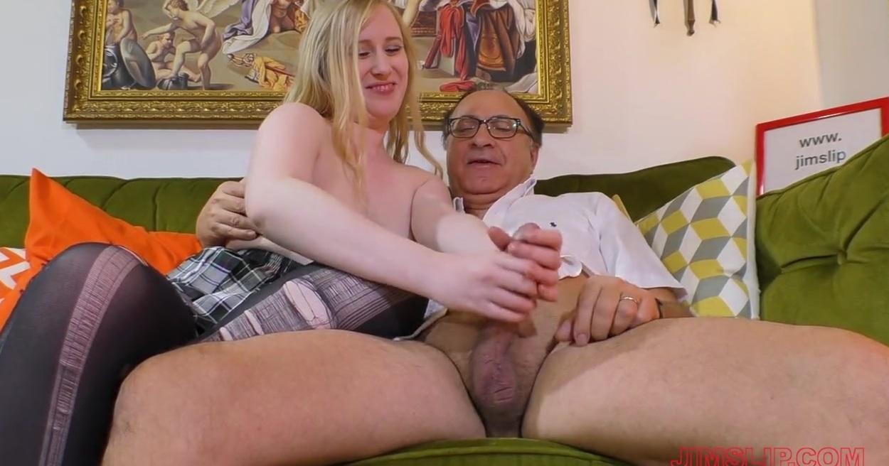 Порно Молодая Грудастая И Старик